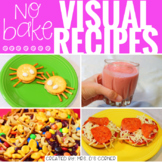 Visual Recipes with REAL pictures - May ( for special education )