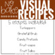 Visual Recipes with REAL pictures - November ( for special education )