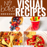 November Visual Recipes with REAL pictures ( for special education )