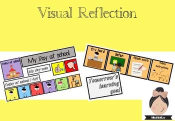 Visual Reflection Tool #spedprepsummer #spedprep