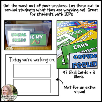 Visual Reminder Cards for IEP & Regular Education Students