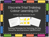 Discrete Trial Learning Kit: Colours