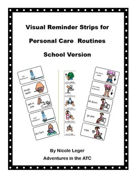 Visual Reminder Strips for Personal Care  Routines