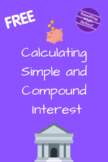 Calculating Simple & Compound Interest
