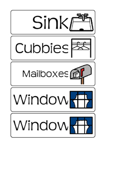 Visual Room Labels