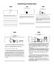 Visual Rubric for Writing and Illustration Mini Poster Set