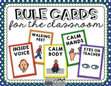 Visual Rule Cards {FREE}