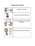 Visual Rules for School