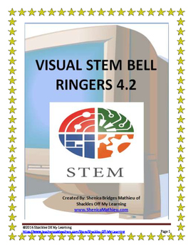 Visual STEM Bell Ringers or Warm Ups week 15