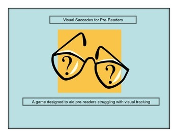 Visual Saccades for Pre-Readers