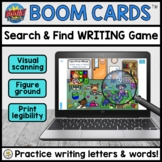 Search & Find DIGITAL Handwriting Game for Teletherapy