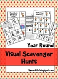 Visual Scavenger Hunts: Eye contact, Joint Attention, Reinforcing Games