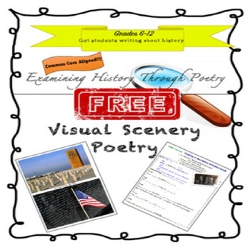 HISTORY AND SCENERY POETRY Grades 6-12
