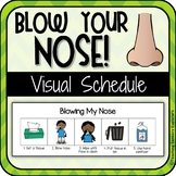 Visual Schedule: Blowing your Nose (Special Education/ Autism)