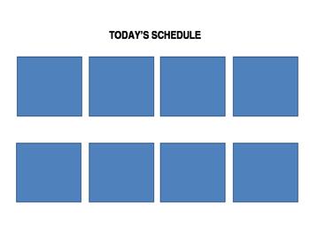 Visual Schedule Board
