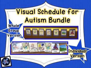 Visual Schedule for Autism Bundle