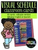Visual Schedule Cards- Bilingual English & Spanish