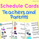 Visual Schedule Cards | LARGE PRINT