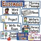 EDITABLE Picture Schedule Cards for Kindergarten to 3rd Grade Classrooms