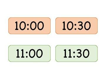 Visual Schedule Clock