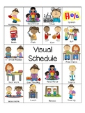 Visual Schedule & Coping Strategies