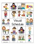 Visual Schedule & Coping Strategies