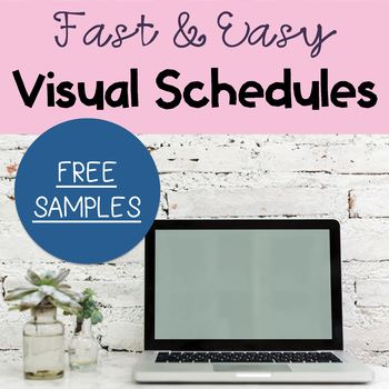 Visual Schedule Freebie