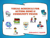 Visual Schedule for Autism- Home & Community