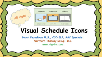 Visual Schedule Icons