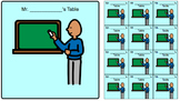 Visual Schedule Icons for Students with Autism/Special Nee