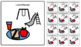 Visual Schedule Icons for Students with Autism/Special Needs - White Background