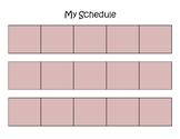 Visual Schedule - Penguin