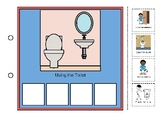 Visual Schedule (Picture Supports) for Using the Toilet