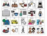 Primary Visual Schedule Picture Symbols (PDF)