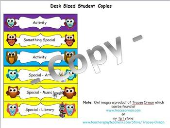 Visual Schedule Primary