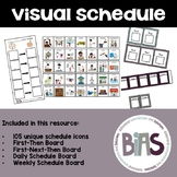 Visual Schedule Resource for Autism and Special Education