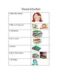 Visual Schedule Sample