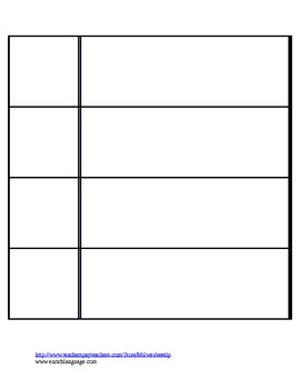 visual schedule template by speech by schmitz teachers pay teachers
