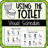 Visual Schedule: Using the Toilet (Special Education/ Autism)