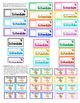 Visual Schedule for Autism and Special Education {Color-coded}