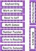 Visual Schedule for Autistic Students