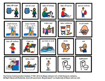 Visual Schedule for Boy at Home (autism)
