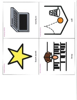 Visual Schedule for Classroom