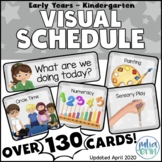 Visual Schedule for Early Years - Kindergarten
