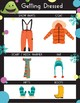 Visual Schedule for Getting Dressed for Outside in the Winter
