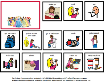 Visual Schedule for Girl at Home (autism)