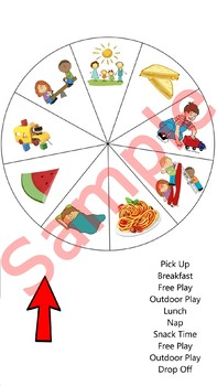 Visual Schedule for Preschool Kids (Infants, Toddlers, Pre-school) :)