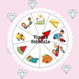 Visual Schedule for Preschool Kids (Infants, Toddlers, Pre