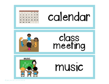 Visual Schedule for Special Education