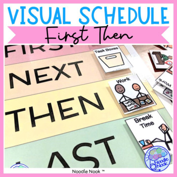 Visual Schedule featuring Boardmaker! Ready to go Class/Personal Schedules.